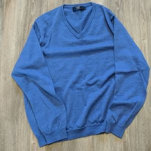 J-Crew Merino Wool V-Neck Sweater